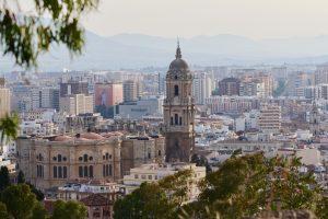 Malaga cityscape