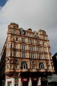 London apartment building