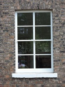 Traditional sash window