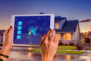 Smart home controlled from device